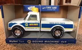VINTAGE NYLINT NAPA Auto Parts Truck - Sound Machine 4x4 - $4.70 ...