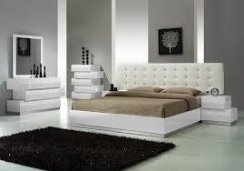 White Leather Modern Bedroom Sets Trends Modern Bedroom