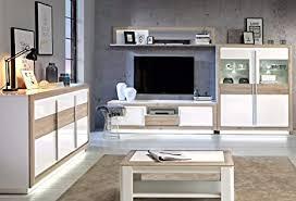 wohnzimmer set canne sideboard vitrine lowboard couchtisch