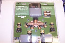 Orbit Hose Faucet Timer Manual by Orbit 27625 Complete Watering Kit Easily Hooks To Any Spigot Great
