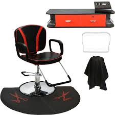 Fully Reclining Barber Chair by Pro 31109a Reclining Styling Chair With Wall Mount Station And