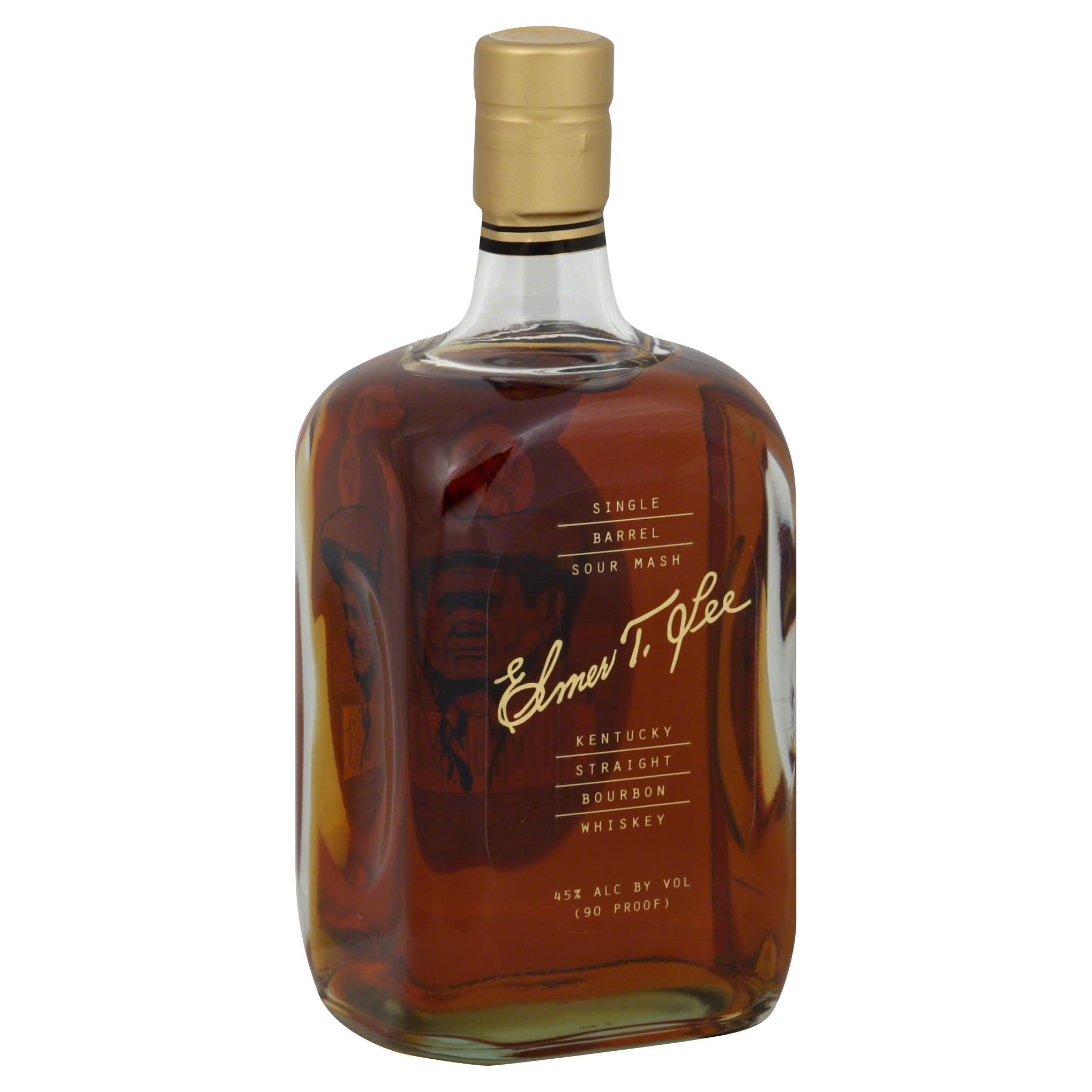 Elmer T. Lee Single Barrel Bourbon Whiskey - 750 ml bottle
