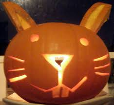 Pumpkin Faces To Carve by Rabbit Ramblings Bun O U0027 Lanterns Bunny Pumpkins For Halloween