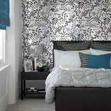 Black N White Wallpaper Modern Bedroom Decorating Ideas
