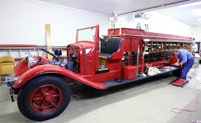 Toledo Museum's Supporters Rescue 1933 Fire Truck - The Blade