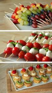 Simple And Beautiful Finger Foodlittle Appetizers Are My Favorite Bridal Shower