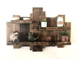 Rustic Shelves Best Ideas On Chic Decor Bathroom And