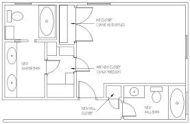 Small Master Bathroom Floor Plan by Master Bathroom Design Plans Inspiring Exemplary Planning Ideas