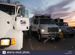 100 Wm Garbage Truck Oct 13 2006 Denton TX USA City Of Denton Waste Management Stock