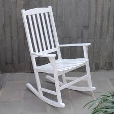 Mainstays Outdoor Rocking Chair, White - Walmart.com