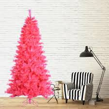 Pre Lit Pencil Cashmere Christmas Tree by Trim A Home 7 5 U0027 Pink Virginia Pencil Pine Tree Kmart