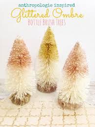 How To Make Bottle Brush Trees