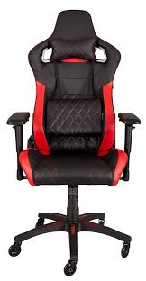 Corsair T1 RACE Gaming Chair / High Back Desk And Office Chair / Black -  Red / 120kgs Weight Capacity / CF-9010003-WW Dxracer Rw106 Racing Series Gaming Chair White Ohrw106nwca Ofm Essentials Style Faux Leather Highback New Padding Ueblack Item 725999 Ascari Ai01 Black Office Official Website Pc Game Big And Tall Synthetic Gaming Chair Computer Best Budget Chairs Rlgear Shield Chairs Top Quality For U Dxracereu Details About Video High Back Ergonomic Recliner Desk Seat Footrest Openwheeler Simulator Driving Simulator Costway Wlumbar Support
