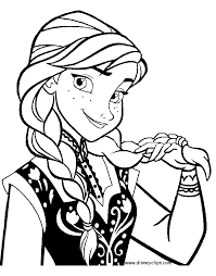 Frozen Coloring Pages Disneys World Of Wonders