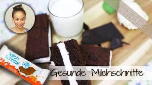 milchschnitte selber machen gesundes rezept low carb snackideen süßigkeit glutenfrei
