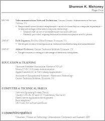 Resume Outline For Students Information Technology Examples No Experience Awesome Sample With Work