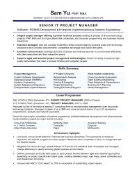 Labeled Erp Implementation Project Manager Resume Upgrade Oracle
