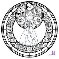 Jack Frost Stained Glass Coloring Page By Akili Amethyst On DeviantARTt