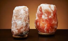 Himalayan Ionic Salt Lamp by Up To 53 Off A Himalayan Natural Salt Lamp Groupon