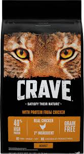 high protein cat food crave with chicken high protein grain free cat food 10