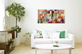 acryl gemälde abstrakt bunt handgemalt leinwand bilder