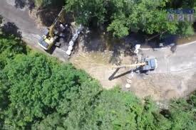 alligator bayou lake update louisiana louisiana officials cut dig in alligator bayou road to