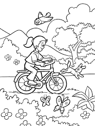 Coloring Pages Printable Spring Activities