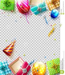 Luxury birthday template