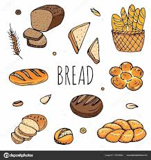 Rye Bread Ciabatta Whole Grain Rhdepositphotoscom Fast Vector Illustration Burger Fried Stock Rhshutterstockcom Croissant Sandwich Clipart