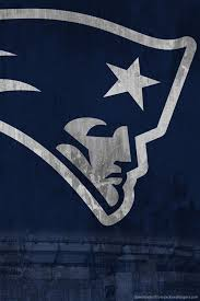Download New England Patriots Shabby Logo Wallpaper For iPhone 4
