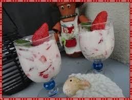 verrine de fraises meringue et fromage blanc recette iterroir