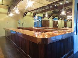 Commercial Copper Bar Top Project During Production. Made With The ... Commercial Bar Tops Designs Tag Commercial Bar Tops Custom Solid Hardwood Table Ding And Restaurant Ding Room Awesome Top Kitchen Tables Magnificent 122 Bathroom Epoxyliquid Glass Finish Cool Ideas Basement Window Dryer Vent Flush Mount Barn Millwork Martinez Inc Belly Left Coast Taproom Santa Rosa Ca Heritage French Bistro Counter Stools Tags Parisian Heavy Duty Concrete Brooks Countertops Custom Wood Wood Countertop Butcherblock