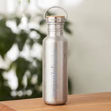 Replace Disposable Single Use Water Bottles With Our Organic Basics Bottle Created In Partnership