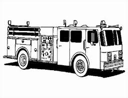 Fire Truck Coloring Pages To Print New Free Fire Truck Coloring ...