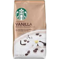 Get Quotations Starbucks Natural Fusions Vanilla Ground Coffee 11 Oz