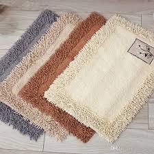 großhandel weiche chenille flauschige wohnzimmer teppich teppich für badezimmer küche rutschfeste badematte boden teppiche fußmatte tapete alfombra