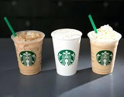 French Vanilla Coffee Starbucks Latte Iced Nutrition
