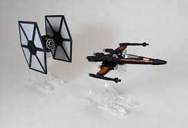 Lego X Wing Stand by Star Wars Wheels First Order Tie Fighter And Poe U0027s X Wing