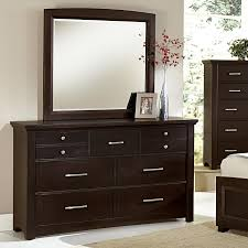 Vaughan Bassett Dresser With Mirror by Vaughan Bassett Transitions Dresser U0026 Landscape Mirror Rooms And