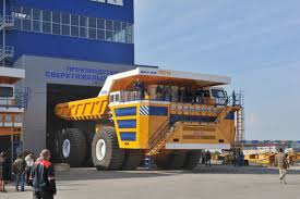 100 Mining Truck BELAZ Introduces Worlds Largest Mining Truck