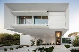 100 Home Designed Front Facade Design Of An Imposing Modern House By Visioarq