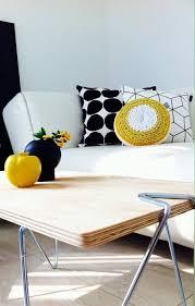 schwarz weiß gelb solebich de solebich wohnzimmer