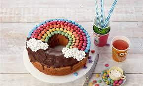 geburtstags regenbogenkuchen