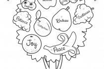 Collection Of Solutions Bearing Good Fruit Coloring Pages For Download
