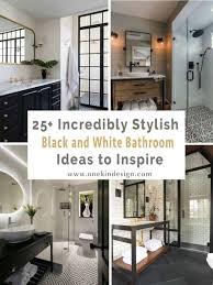 100 Edenton Lofts 25 Incredibly Stylish Black And White Bathroom Ideas To Inspire