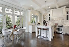 contemporary kitchen with kitchen island by michael han zillow
