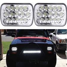 2X Sealed Beam HID LED Headlights For Toyota Landcruiser 61 62 80 ... 62017 Chevy Silverado Trucks Factory Hid Headlights Led Lights For Cars Headlights Price Best Truck Resource 234562017fordf23f450truck Dodge Ram Xb Led Fog From Morimoto 02014 Ford Edge Drl Bixenon Projector The Burb 2007 2500 Suburban 8lug Hd Magazine Starr Usa Ck Pickup 881998 Starr Vs Light Your Youtube Sierra Spec Elite System 2002 2006 9007 Headlight Kit Install Writeup Diy Fire Apparatus Ems Seal Beam Brheadlightscom Vs Which Is Brighter Powerful Long Lasting