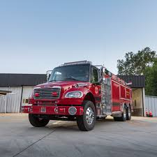 100 Freightliner Fire Trucks Lesslie SC Dept Takes Delivery Of New PumperTanker Built On
