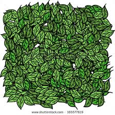 cartoon illustration of a pile of leaves