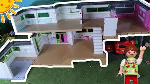 playmobil luxusvilla haus umbauen roomtour familie sonnenschein